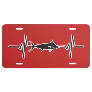 Deep Sea License Plates Zazzle