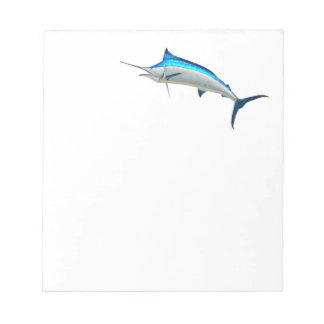 Blue Marlin Game Fish Notepad