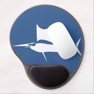 Blue Marlin Gel Mouse Pad