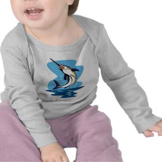 blue marlin jumping shirts