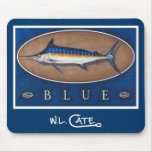 Blue Marlin Mouse Pads