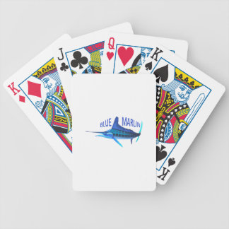 BLUE MARLIN BICYCLE PLAYING CARDS
