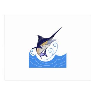 Blue Marlin Postcard