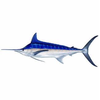 Blue Marlin Statuette