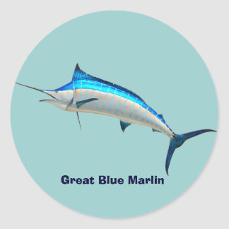 Blue Marlin Sticker