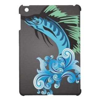 blue-marlin-vector iPad mini covers