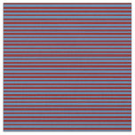 [ Thumbnail: Blue & Maroon Colored Pattern Fabric ]