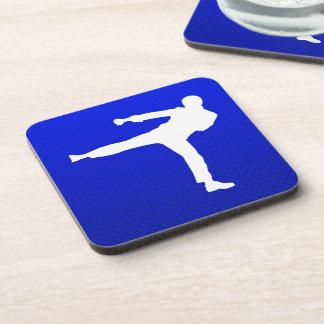 Blue Martial Arts Coasters