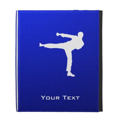 Blue Martial Arts iPad Cases