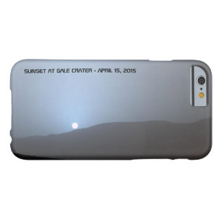 Blue Martian Sunset Barely There iPhone 6 Case