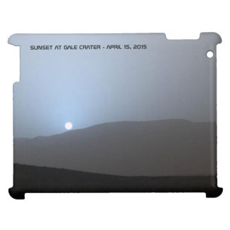 Blue Martian Sunset iPad Covers