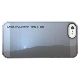 Blue Martian Sunset Permafrost iPhone SE/5/5s Case