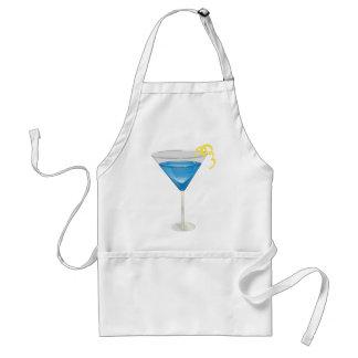 Blue Martini Adult Apron