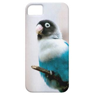 Blue Masked Lovebird iPhone SE/5/5s Case