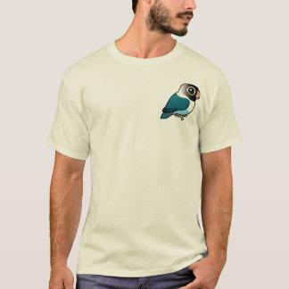 Blue Masked Lovebird T-Shirt