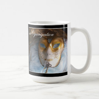 Blue Masque Coffee Mug