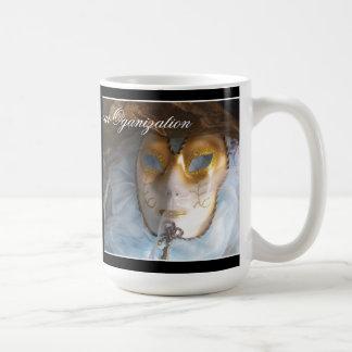 Blue Masque Coffee Mug