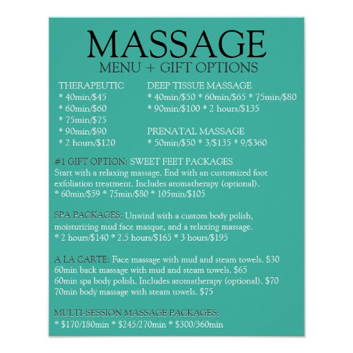 2886894 Spa And Salon Service Menu moreover Workshops Tackling Alzheimers Disease Take A together with Acne besides Presidential suite further Free Salon Menu Templates. on massage therapy menus