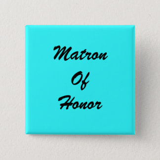 Blue Matron Of Honor PIn
