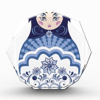 Blue Matryoshka Doll Award