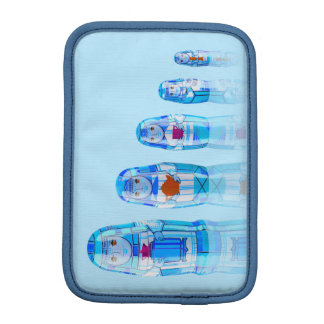 Blue Matryoshka Russian Dolls iPad Mini Sleeve