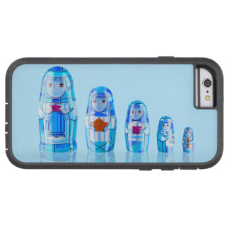 Blue Matryoshka Russian Dolls Phone 6 Case Tough Xtreme iPhone 6 Case