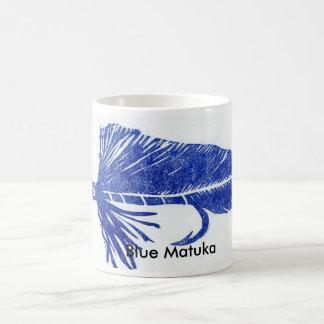 """Blue Matuka"" Classic Trout Fly Mug"