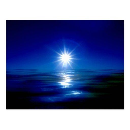 Blue Maui Sunrise postcard