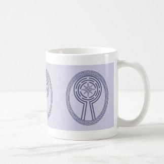 Blue Maze Mug