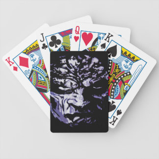 Blue Meanie Bicycle Playing Cards
