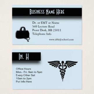 Blue Medical Business Card