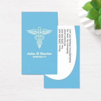 Blue medical doctor or healthcare business cards