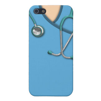 Blue Medical Scrubs Case For iPhone SE/5/5s
