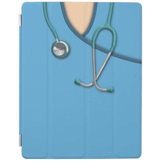 Blue Medical Scrubs iPad Smart Cover