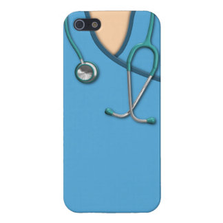 Blue Medical Scrubs Cover For iPhone 5