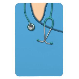 Blue Medical Scrubs Magnet