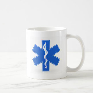 Blue Medical Sign Coffee Mug