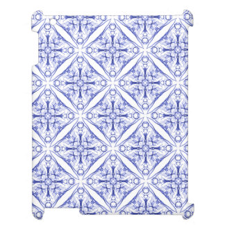 Blue Medieval Patterned Cover For The iPad 2 3 4