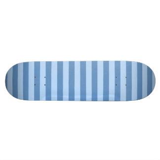 Blue Medium Horizontal Stripes (customizable!) Custom Skate Board