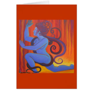 Blue Medusa Cards
