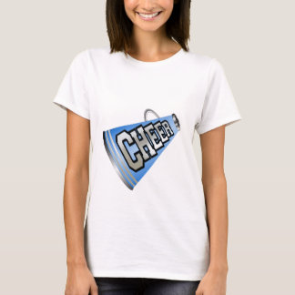 Blue Megaphone Cheerleader T-Shirt