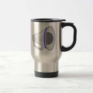 Blue Megaphone Travel Mug