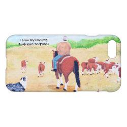 iPhone 7 Case with Australian Shepherd Phone Cases design