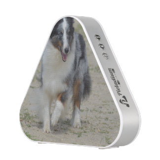 Blue Merle Australian Shepherd Bluetooth Speaker