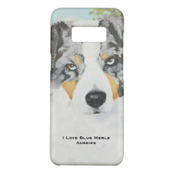 Case-Mate Barely There for Samsung Galaxy S8 Case with Australian Shepherd Phone Cases design