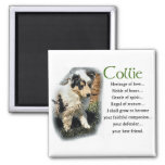 Blue Merle Collie Gifts Fridge Magnet