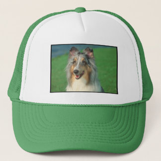 Blue Merle Collie Trucker Hat