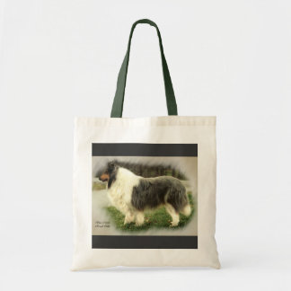 Blue Merle Rough Collie Art Gifts Tote