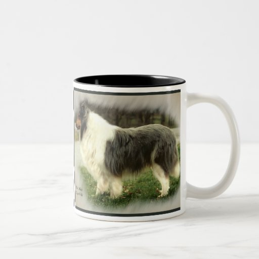 Blue Merle Rough Collie Gifts Coffee Mugs