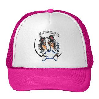 Blue Merle Sheltie IAAM Trucker Hat
